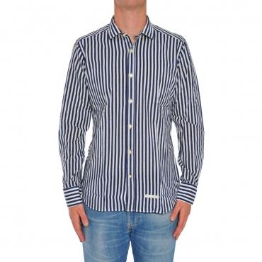 Camicia Uomo Tintoria Mattei Riga Color FE1 RIGA FE1 RIGA
