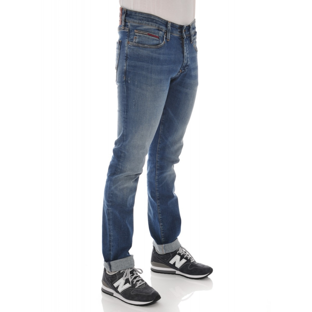 Jeans Tommy Hilfiger Uomo Dynamic Stretch Austin Blue AUSTIN BLUE