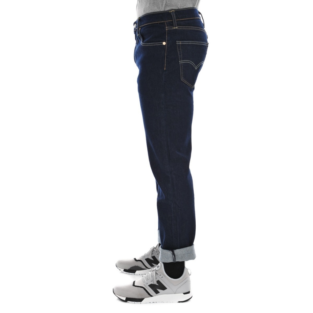 Jeans Levi's 502 Uomo Chein Rinse Regular Taper 0020 CHAINRINSE 0020 CHAINRINSE