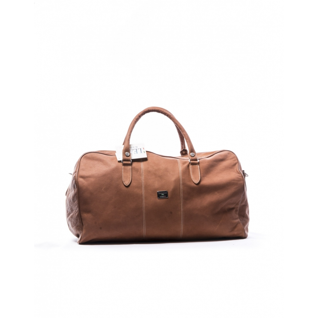 LEATHER TRAVEL BAG LEATHER