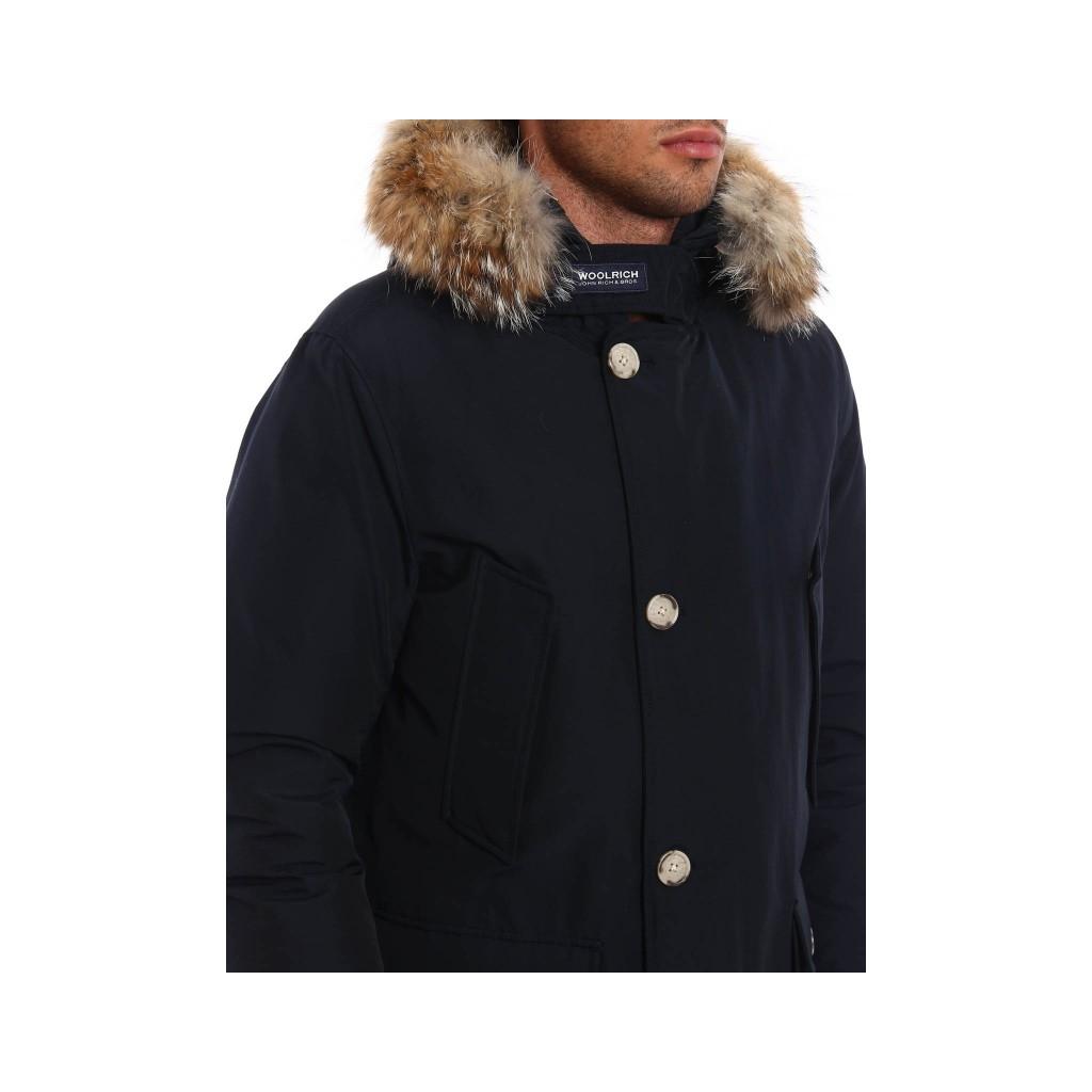 e Cappotti anorak Giacche Arctic Woolrich NOTTE BLU 1XgBqY