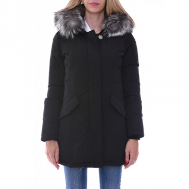 Ws luxury arctic parka fox NERO NERO