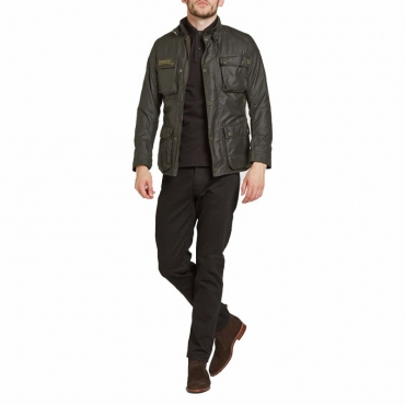Blackwell wax jacket GRIGIO GRIGIO