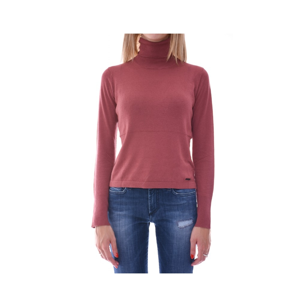 TERRACOTTA high neck sweater