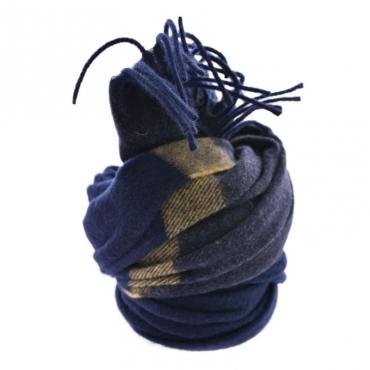 Ws classic scarf BLU BLU