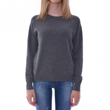 Ws cashmere stitches sweater ANTRACITE ANTRACITE