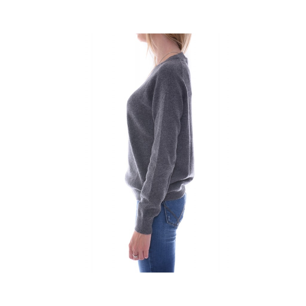 Ws cashmere stitches sweater ANTRACITE ANTRACITE