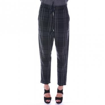 Ws light wool comfort pant BLU BLU