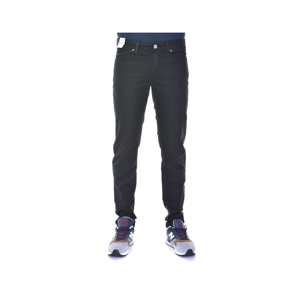 Pantalone slim 5 tasche NERO NERO
