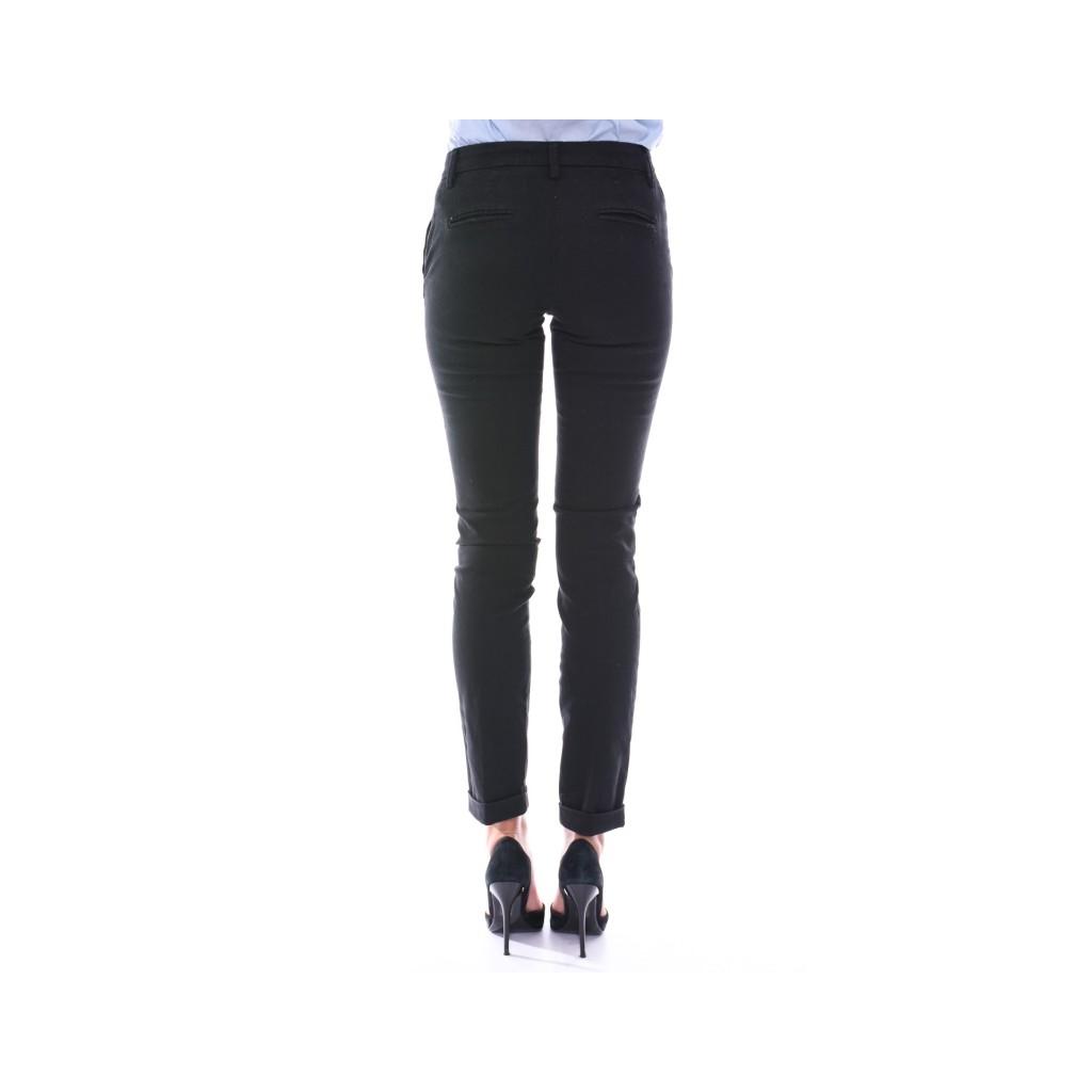 Pantalone slim NERO NERO