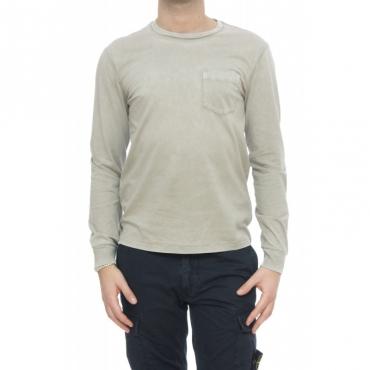 T-shirt - 684034 t-shirt manivca lunga 002 - Grey 002 - Grey