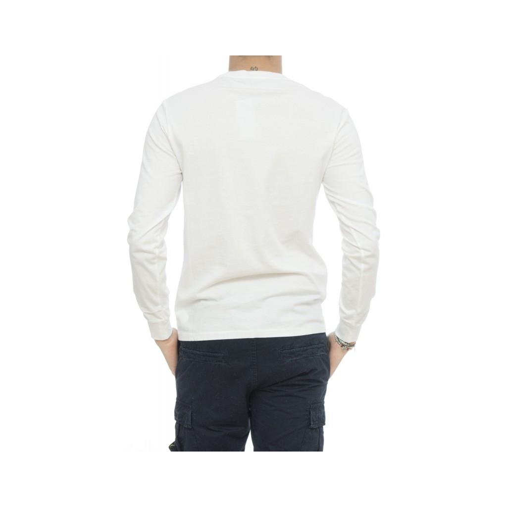 T-shirt - 684034 t-shirt manivca lunga 001 - bianco 001 - bianco