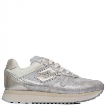 Sneakers Tokyo Wedge con glitter silver SILVER SILVER