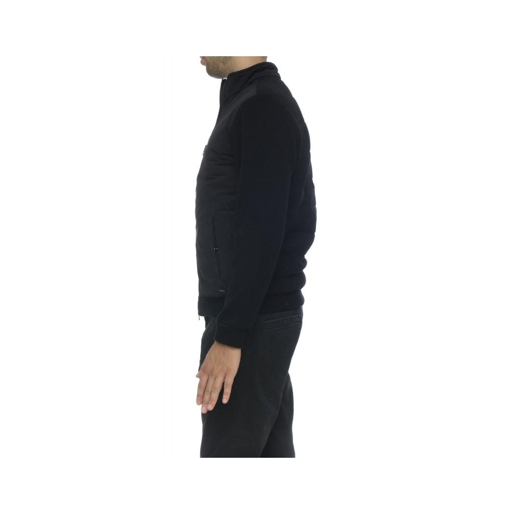 Piumino - WO TSC0027 WC40 wool cotton track jkt 100 - Nero 100 - Nero