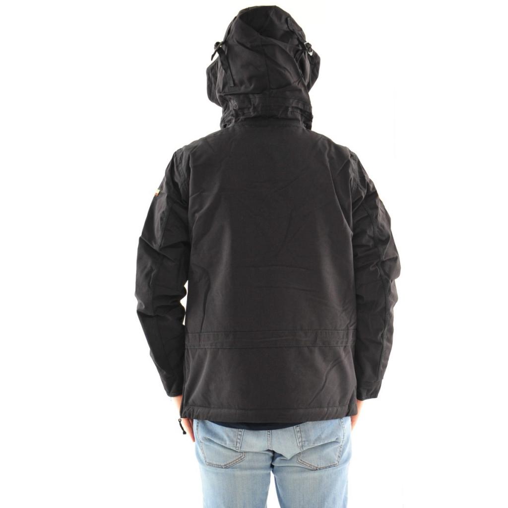 Giacca Napapijri Uomo Skidoo Cordura Cappuccio 041 BLACK 041 BLACK