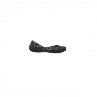 MELISSA CAMPANA scarpa donna nera mod PAPEL VII AD 100 caucci glitter  MADE IN BRAZIL UNICO