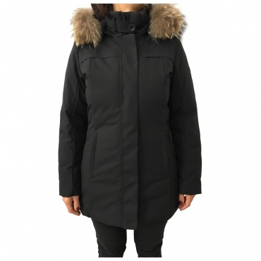 CANADIENS giaccone donna nero mod CO0549 GLORY/D TECH UNICO