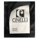 CINELLI sciarpa unisex nero 100 nylon imbottitura 100 piumino doca MADE IN ITALY UNICO