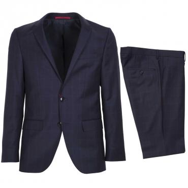Completo giacca pantalone e gilet 410NAVY