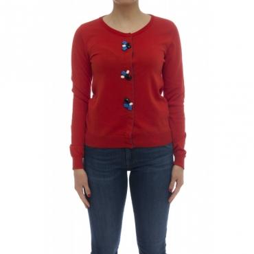 Maglieria - J1300 rebecchina bootni gioiello 1499 - Rosso