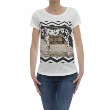 T-shirt - Savage t-shirt stampa bianco DALMATA