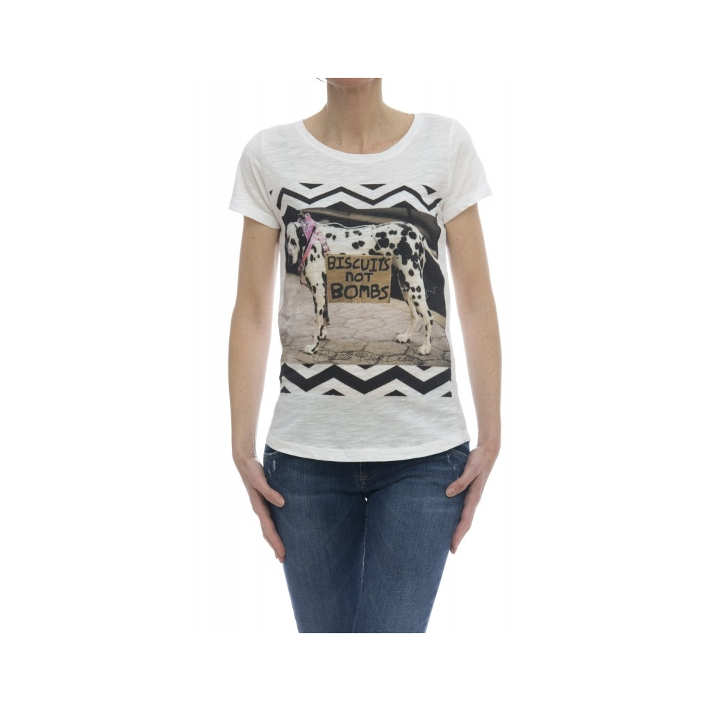 T-shirt - Savage t-shirt stampa bianco DALMATA