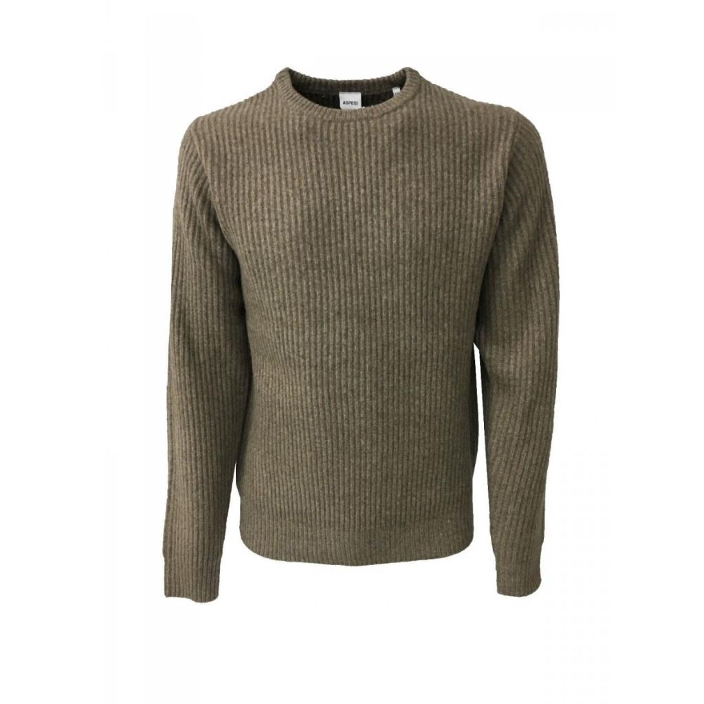 b927adfcaa ASPESI - ASPESI maglia uomo costa inglese TORTORA mod M196 65 lana ...