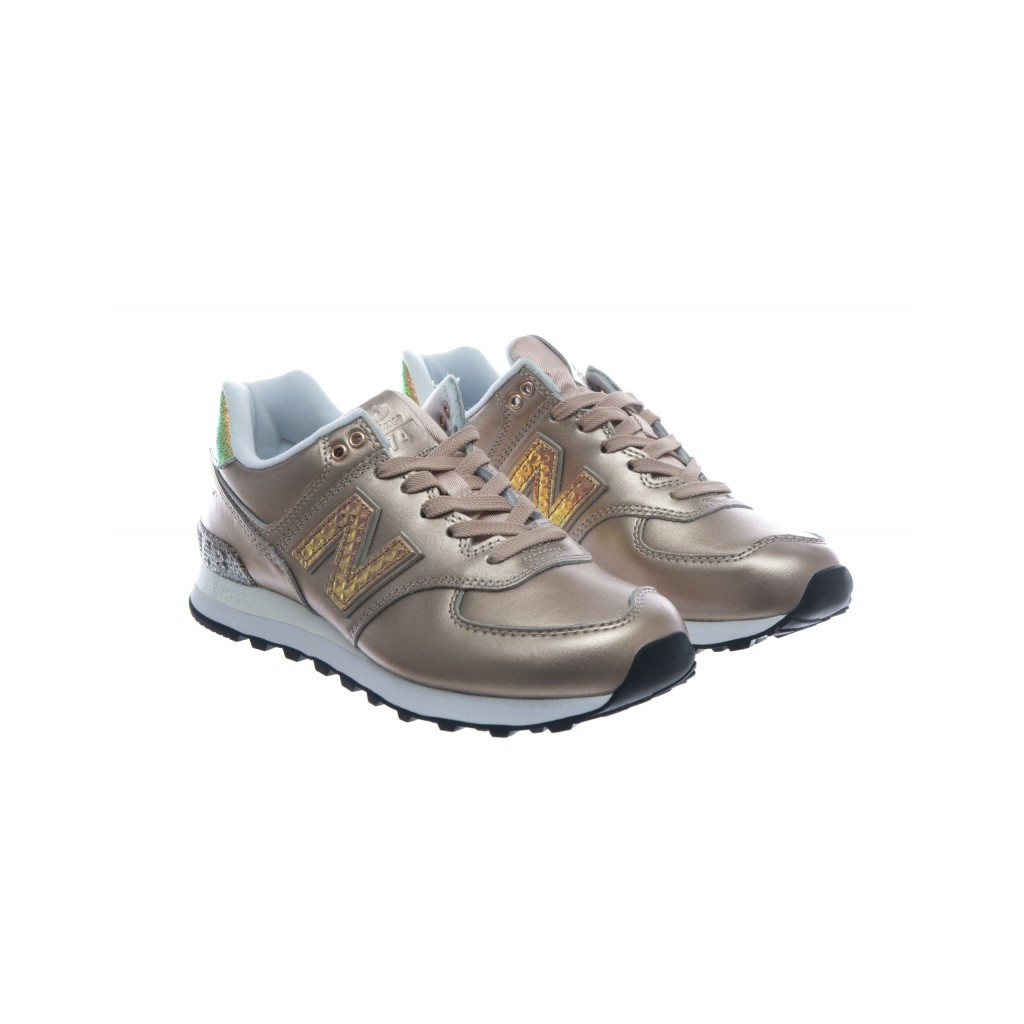 Balance New Sneakers Wl574 bow Platino Scarpe Laminato Nrg Hvqdvaw