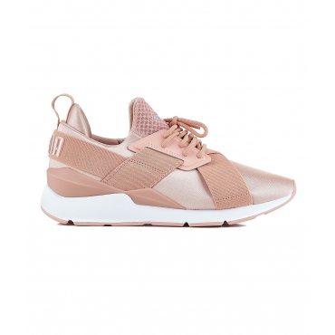 Sneakers Muse Satin rose