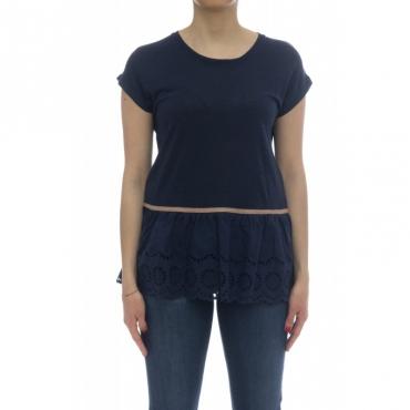 T-shirt - L18206 t-shirt lino 07 - Navy