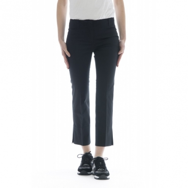 Pantalone donna - Medusa 172660 d6187 satene cotone strech 990 - nero