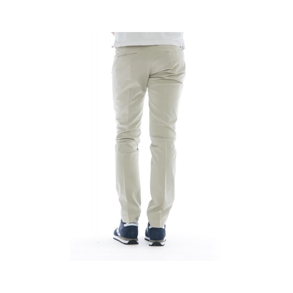 Pantalone uomo - 8201 292l17 gabardina strech lavata 516 - Beige