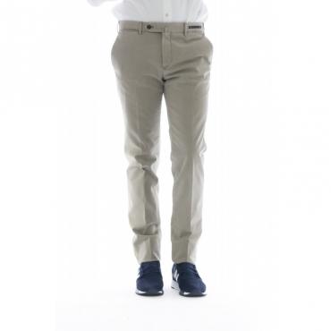 Pantalone uomo - Cpdl01z00spr super slim cotone lavato strech 060 - Beige