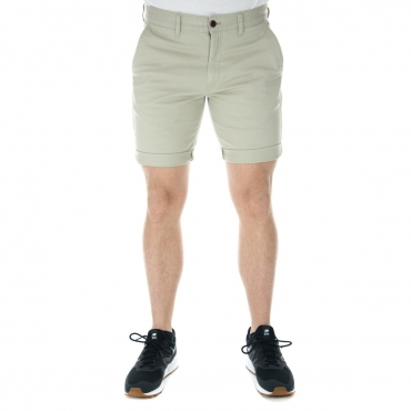 Short Tommy Hilfiger Jeans Uomo Bermuda Basic 006 PLAZA TAUPE