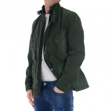 Casual jacket VERDE MILITARE