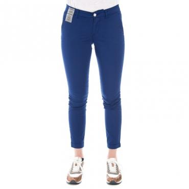 Pantalone slim fit leggero BLU ELETTRICO