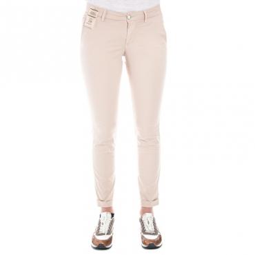 Pantalone slim fit leggero ROSA