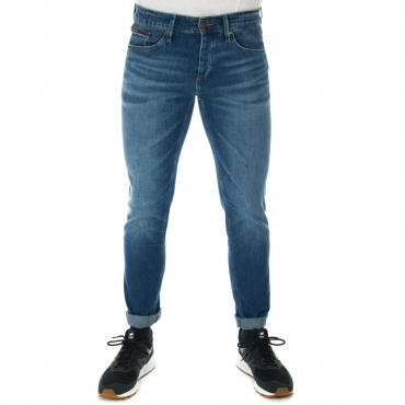 Jeans Tommy Hilfiger Uomo Scanton Denver Stretch 911 DARK BLUE