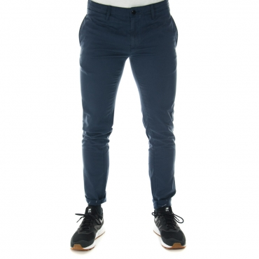 Pantalone Tommy Hilfiger Uomo Chino 002 BLACK IRIS