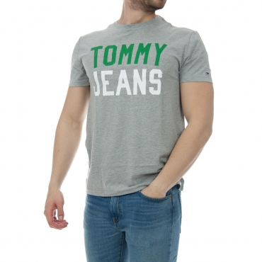 T-shirt Tommy Hilfiger Uomo College 038 LT GREY