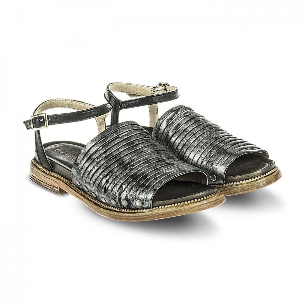 Fabbrica Dei Colli Sandalo Donna Nero Pelle Tacco cm 2 MOD 1TATO102 (EU 36 - USA 6 - UK 3.5) Salida Mejor Tienda Para Comprar 59jm3