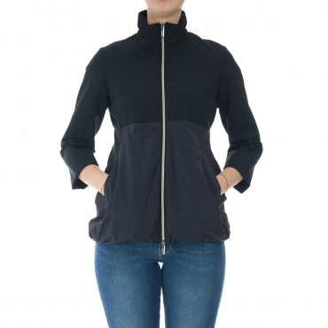 Giacca Rrd Donna Summer Neo Hybrid Bomber Lady 60 BLUE BLACK