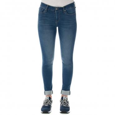 Jeans Levis Donna 711 Skinny Malibu L M30 0270 MALIBU