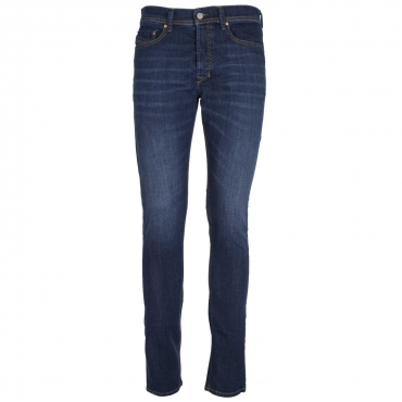 Jeans Tepphar skinny in denim blu scuro 01