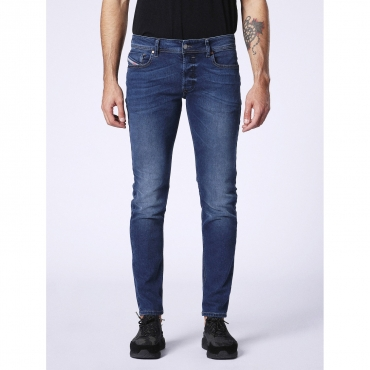Jeans Sleenker in denim blu slim fit 01