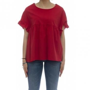 Camicia - 145511 camicia rouge 30 - Rosso