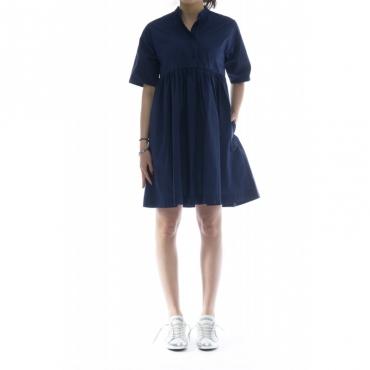 Vestito - Wwabi0384 p090 vestito over unito 313 - Indigo