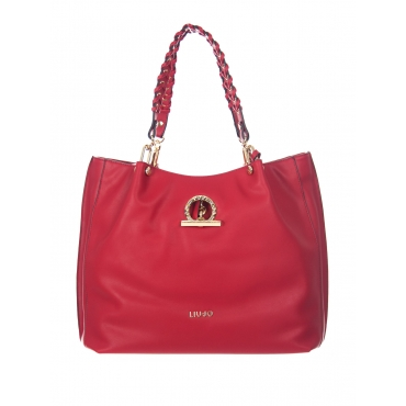 BORSA LIUJO SATCHEL LIUJO CHERRY RED UNICO