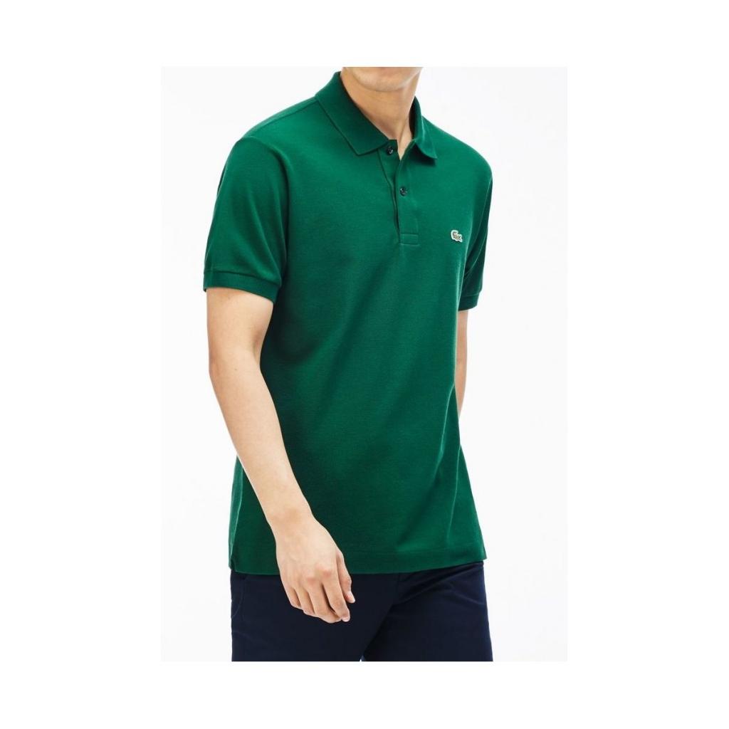 ab764aa4250a Lacoste Men s Polo Shirt L1212 Piquet Mc 132 VERT T-Shirt