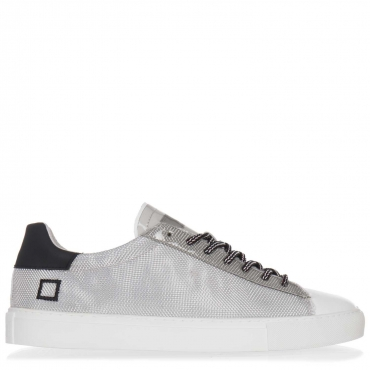 Sneakers in pelle rivestita da rete metallica  METALLICMESH